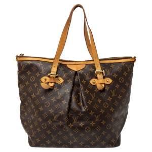 Louis Vuitton Monogram Canvas Palermo GM Bag