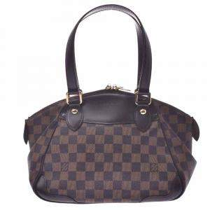Louis Vuitton Brown Damier Ebene Canvas Verona PM Bag