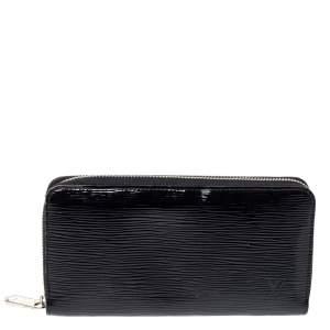"""محفظة لوي فيتون """"زيبي"""" جلد إيبي أسود اليكتريك"""
