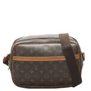 Louis Vuitton Brown Monogram Canvas Reporter PM Bag