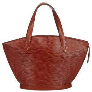 Louis Vuitton Brown Epi Leather Saint Jacques PM Bag