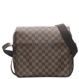 Louis Vuitton Brown Damier Ebene Canvas Naviglio Bag
