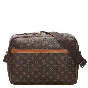 Louis Vuitton Brown Monogram Canvas  Reporter GM Bag