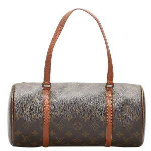 Louis Vuitton Brown monogram Canvas Papillon 30 bag