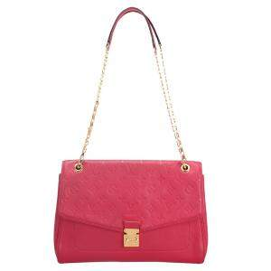 Louis Vuitton Red Monogram Empreinte Leather Saint Germain MM Bag