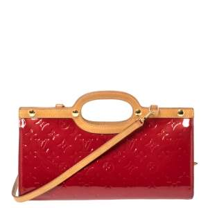 Louis Vuitton Pomme D'amour Monogram Vernis Roxbury Drive Bag