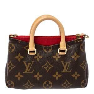 Louis Vuitton Monogram Canvas Nano Pallas Bag