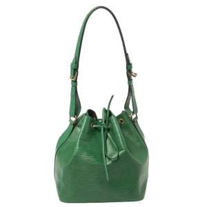 حقيبة لوى فيتون بورنيو بيتى نيو جلد إيبى خضراء