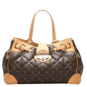 Louis Vuitton Brown Monogram Canvas Etoile Shopper bag