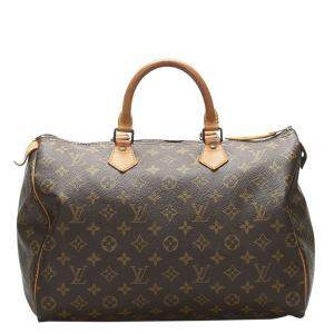 Louis Vuitton Monogram Canvas Speedy 35 bag