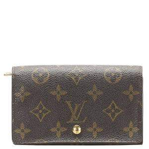 Louis Vuitton Monogram Canvas Porte Monnaie Billets Small Wallet