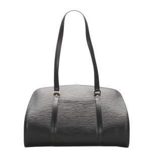 Louis Vuitton Black Epi Leather Solferino Bag