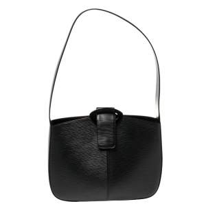 Louis Vuitton Black Epi Leather Reverie Bag