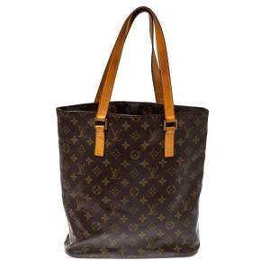 Louis Vuitton Monogram Canvas and Leather Cabas Piano Bag