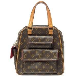 Louis Vuitton Monogram Canvas Excentri Cite Bag