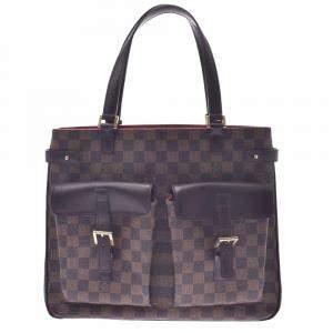 Louis Vuitton Brown Damier Ebene Canvas Uzes Tote Bag
