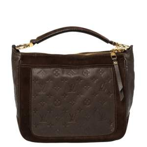 Louis Vuitton Ombre Monogram Empreinte Leather Audacieuse PM Bag