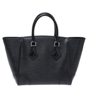 Louis Vuitton Black Epi Leather Phenix PM Bag