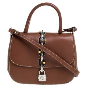Louis Vuitton Brown Leather Chain It PM Bag