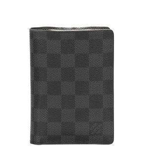 Louis Vuitton Black/Grey Damier Graphite Canvas Marco Wallet
