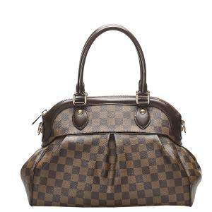 Louis Vuitton Brown Damier Ebene Canvas Trevi PM Bag