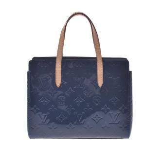 Louis Vuitton Blue Monogram Vernis Catalina BB Bag