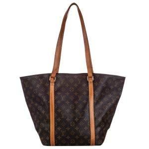 Louis Vuitton Brown Monogram Canvas Sac Shopping 48 Bag
