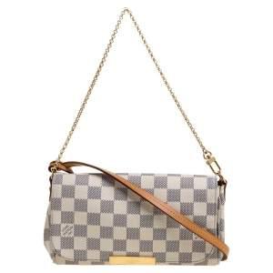 Louis Vuitton Damier Azur Canvas Favorite PM Bag