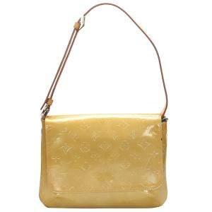 Louis Vuitton Yellow Monogram Vernis Thompson Street Bag