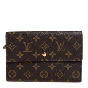 Louis Vuitton Monogram International Tri-fold Wallet