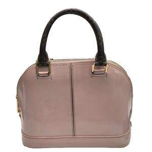 Louis Vuitton Pink Monogram Vernis Mirior Alma BB Bag