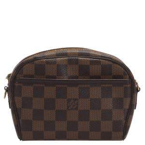 Louis Vuitton Brown Damier Ebene Canvas Pochette Ipanema Bag