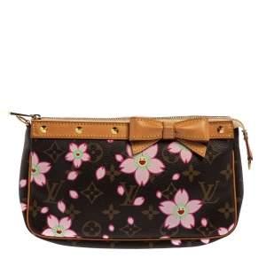 Louis Vuitton Monogram Canvas Cherry Blossom Pochette Accessories