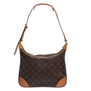 Louis Vuitton Monogram Canvas and Leather Boulogne Shoulder Bag