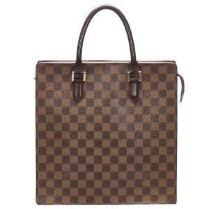 Louis Vuitton Brown Damier Ebene Canvas Venice Sac Plat Bag