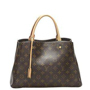 Louis Vuitton Brown Monogram Canvas Montaigne BB Bag