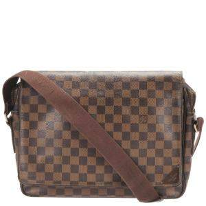 Louis Vuitton Brown Damier Ebene Canvas Shelton MM bag