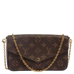 Louis Vuitton Monogram Canvas Felicie Pochette Bag