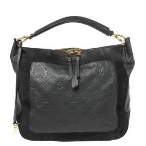 Louis Vuitton Bleu Infini Monogram Empreinte Leather Audacieuse GM Bag