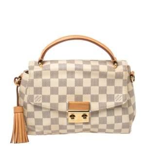 Louis Vuitton Damier Azur Croisette Bag