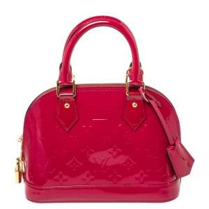 Louis Vuitton Indian Rose Monogram Vernis Alma BB Bag