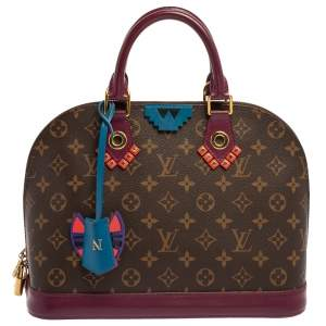 Louis Vuitton Monogram Canvas Totem Alma PM Bag
