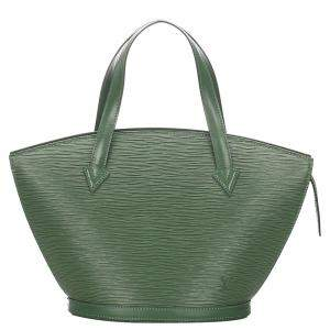Louis Vuitton Green Epi Leather Saint Jacques Short Strap PM Bag
