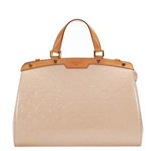 Louis Vuitton Pink Monogram Vernis Brea GM Bag