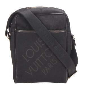 Louis Vuitton Black Damier Geant Canvas Citadin Messenger Bag