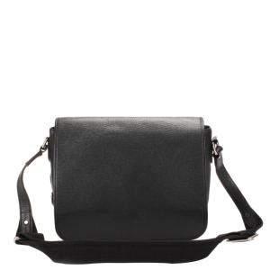 Louis Vuitton Black Taiga Leather Andrei Bag