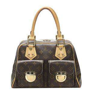 Louis Vuitton Brown Monogram Canvas Manhattan PM bag