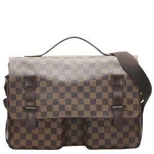 Louis Vuitton Damier Ebene Canvas Broadway Bag
