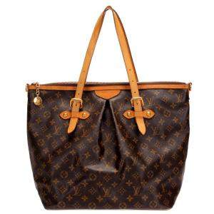 Louis Vuitton Brown Monogram Canvas Palermo GM bag