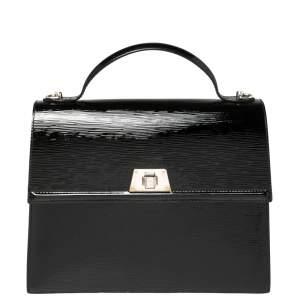 حقيبة لوى فيتون سيفين جلد إيبى إليكتريك سوداء GM